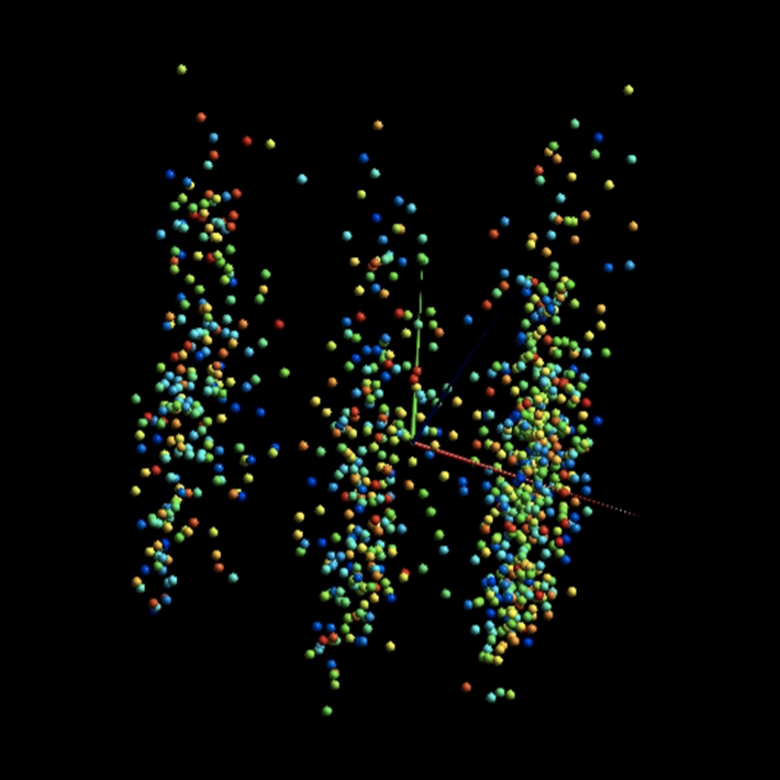 Image of data points