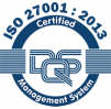 ISO 27000 : 2013 certified